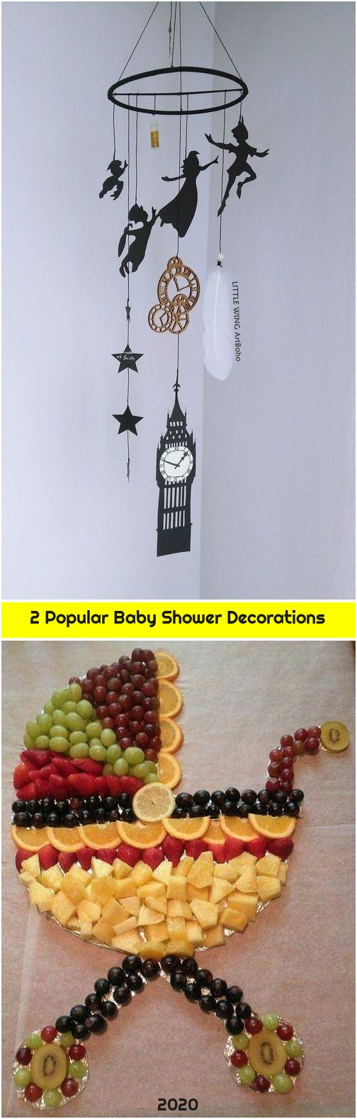 2 Popular Baby Shower Decorations