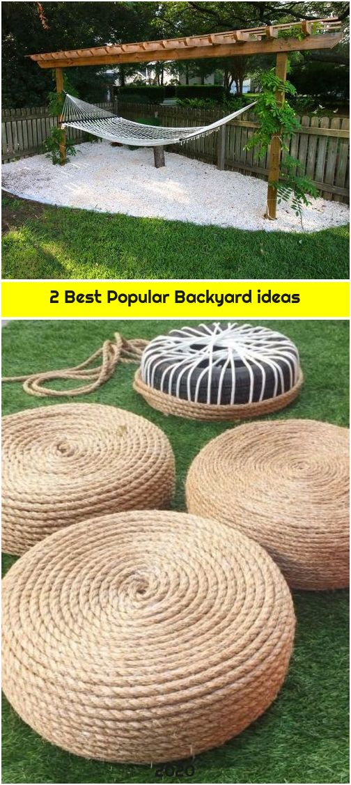 2 Best Popular Backyard ideas