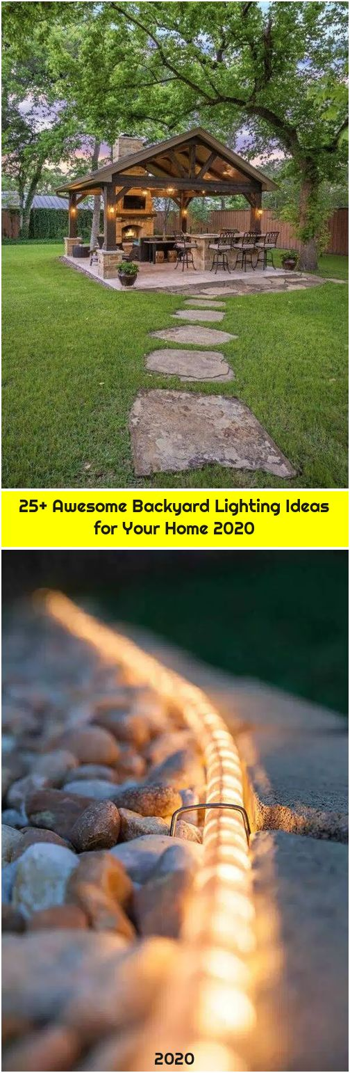 25+ Awesome Backyard Lighting Ideas for Your Home 2020