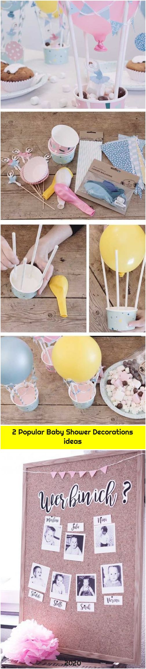 2 Popular Baby Shower Decorations ideas