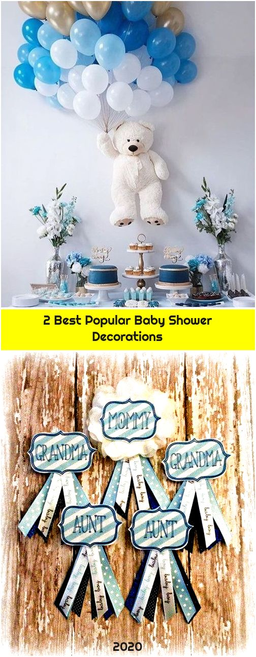 2 Best Popular Baby Shower Decorations