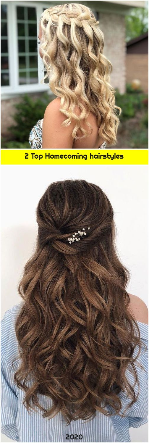 2 Top Homecoming hairstyles