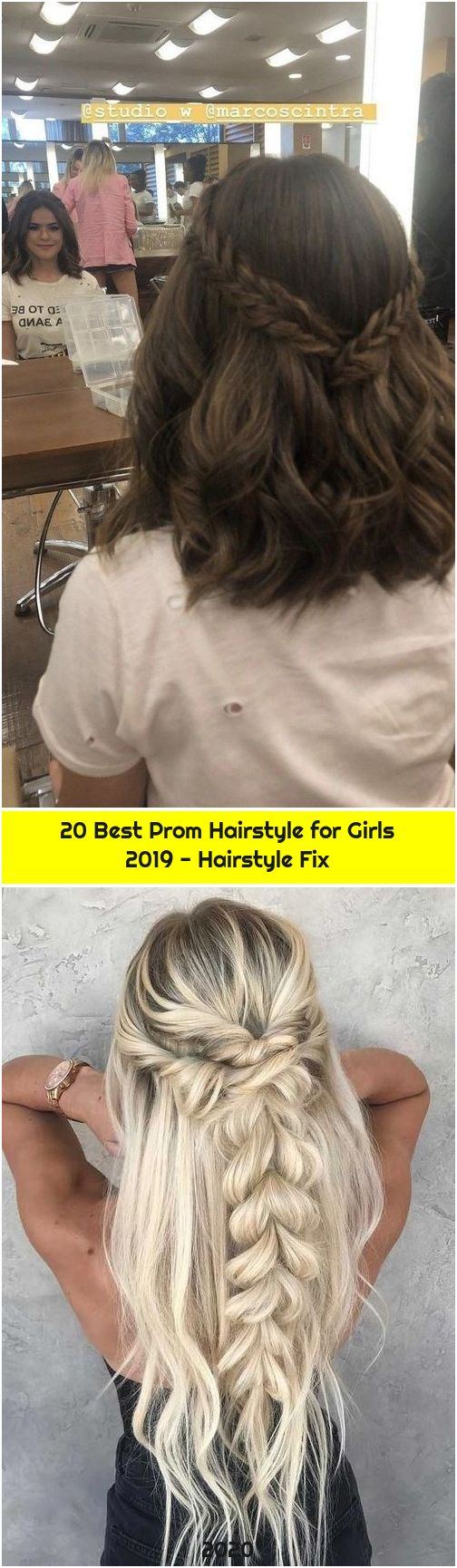 20 Best Prom Hairstyle for Girls 2019 - Hairstyle Fix