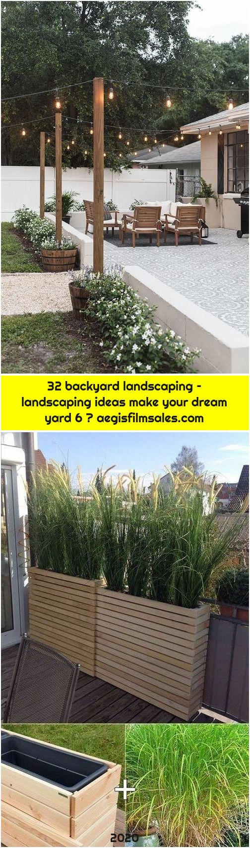 32 backyard landscaping – landscaping ideas make your dream yard 6 ⋆ aegisfilmsales.com