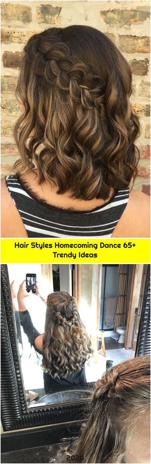 Hair Styles Homecoming Dance 65+ Trendy Ideas