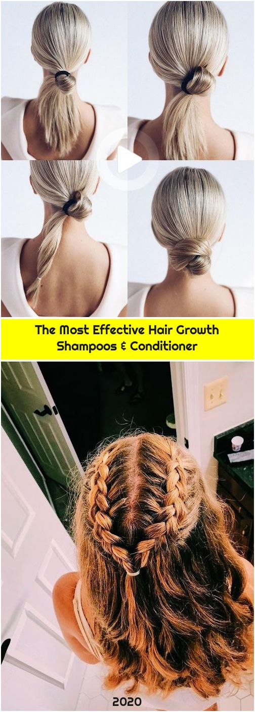 The Most Effective Hair Growth Shampoos & Conditioner