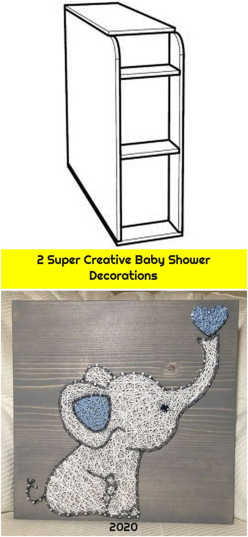 2 Super Creative Baby Shower Decorations