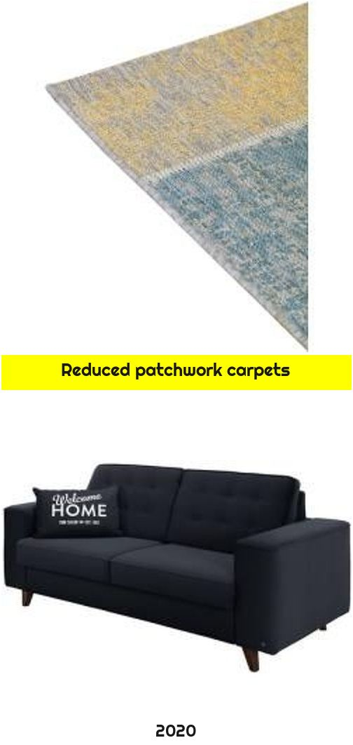 Reduced patchwork carpets