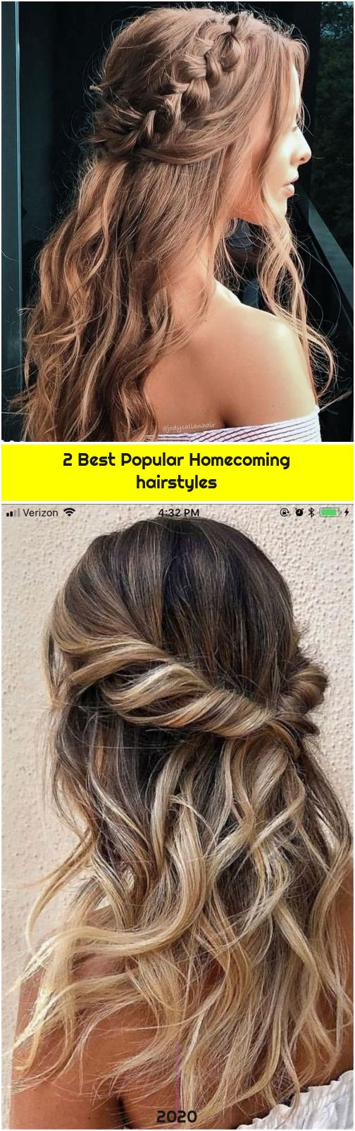 2 Best Popular Homecoming hairstyles