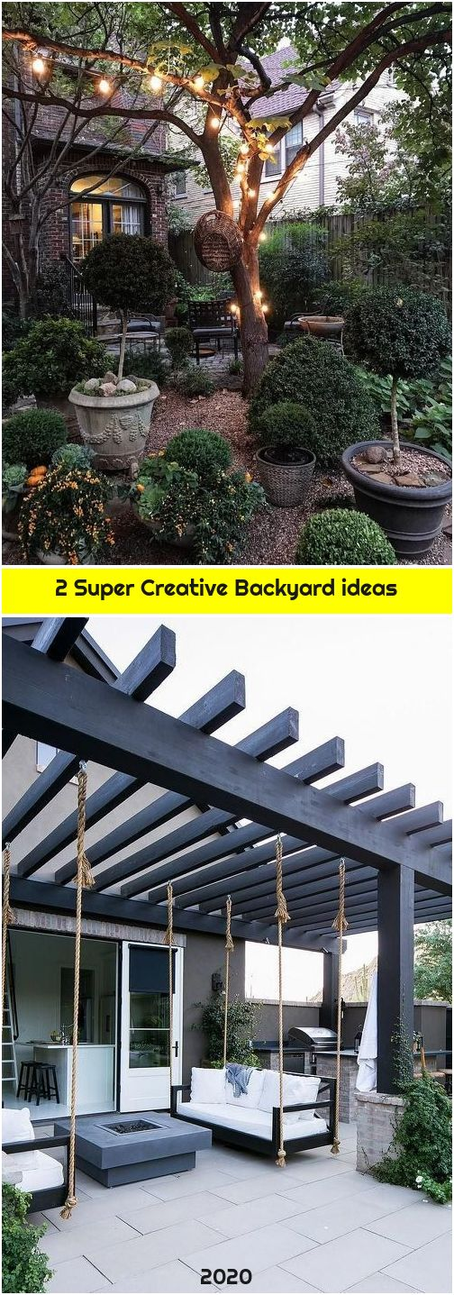 2 Super Creative Backyard ideas