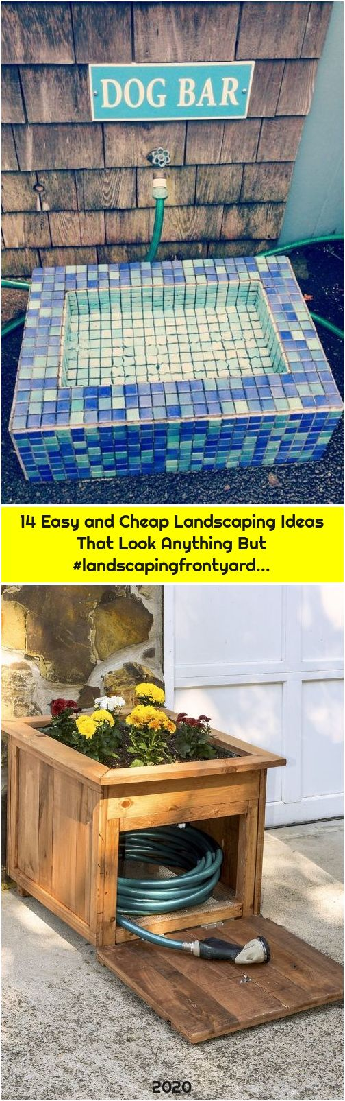 14 Easy and Cheap Landscaping Ideas That Look Anything But #landscapingfrontyard...