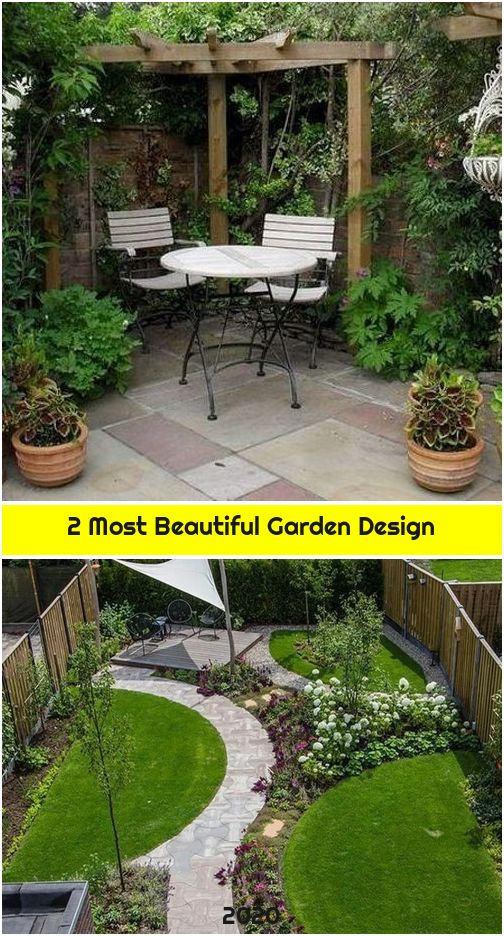 2 Most Beautiful Garden Design