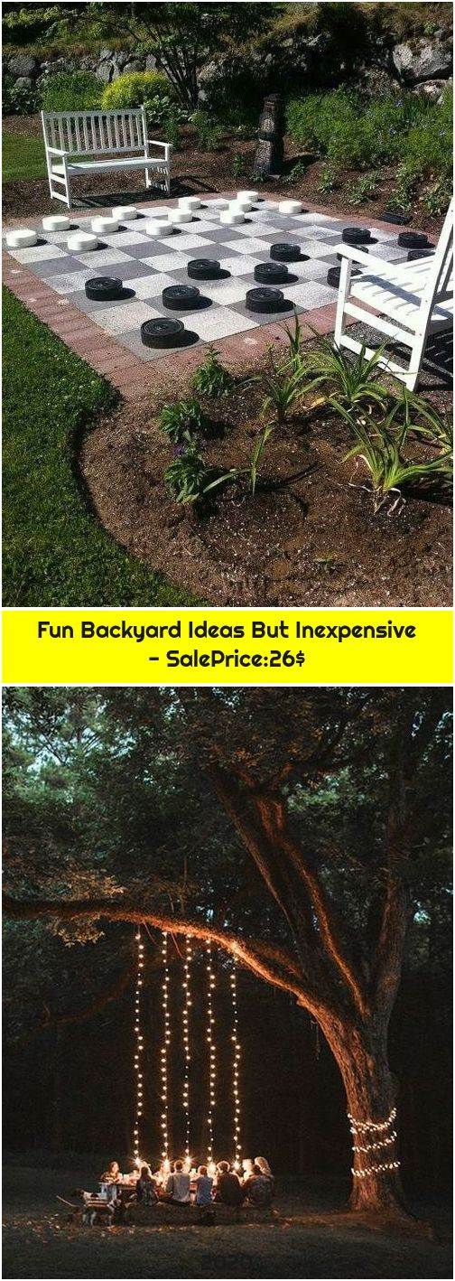 Fun Backyard Ideas But Inexpensive - SalePrice:26$