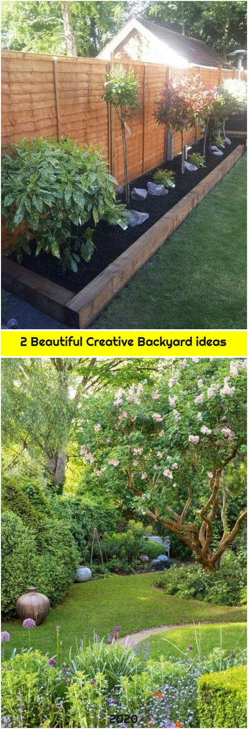2 Beautiful Creative Backyard ideas