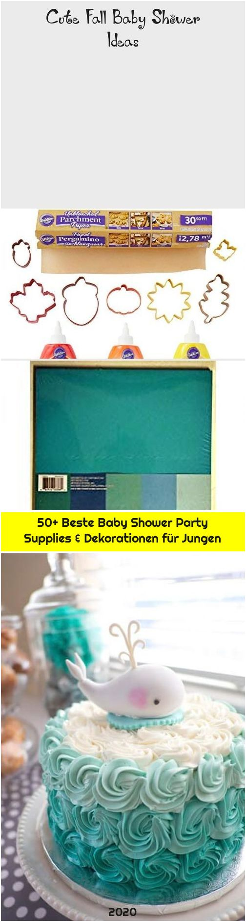 50+ Beste Baby Shower Party Supplies & Dekorationen für Jungen