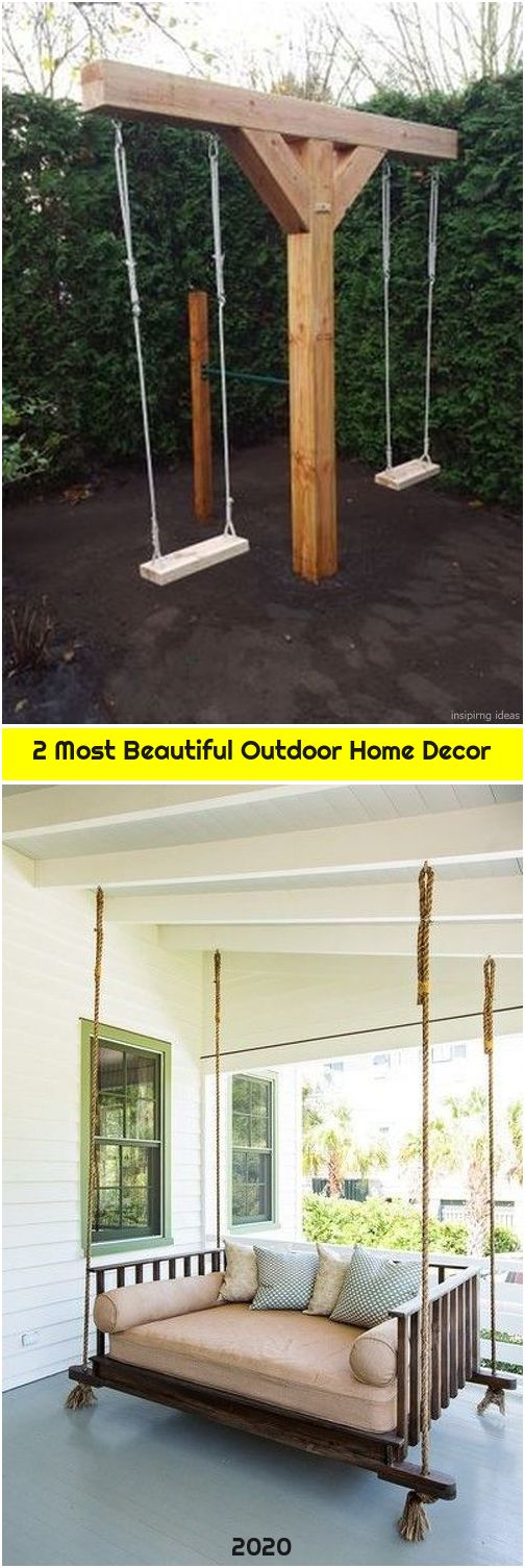 2 Most Beautiful Outdoor Home Decor