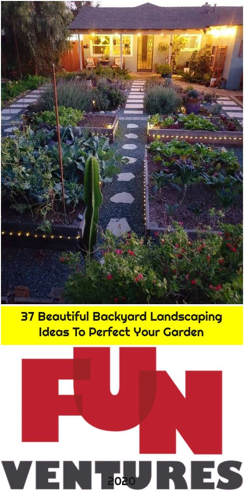 37 Beautiful Backyard Landscaping Ideas To Perfect Your Garden