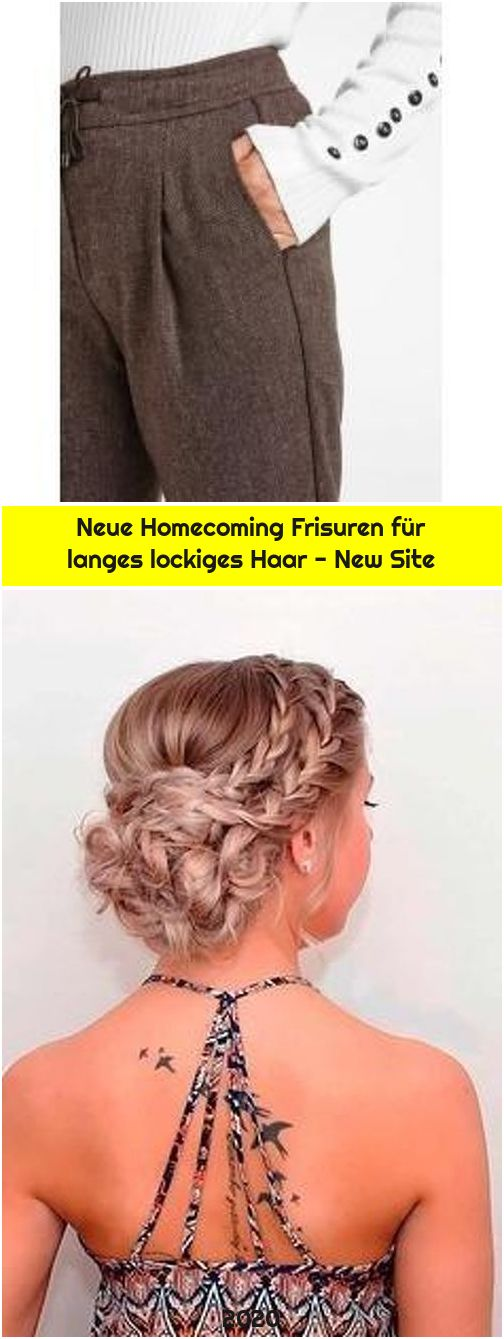 Neue Homecoming Frisuren für langes lockiges Haar - New Site