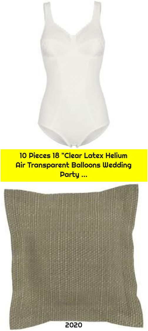 """10 Pieces 18 """"Clear Latex Helium Air Transparent Balloons Wedding Party ..."""