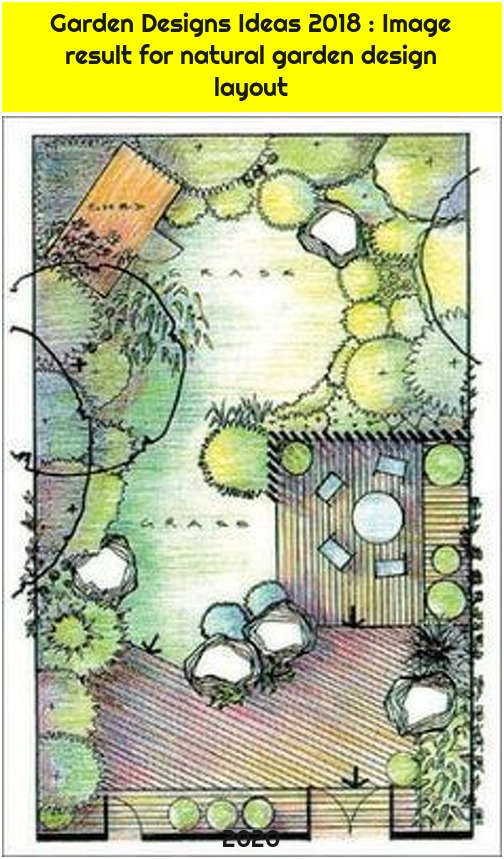 Garden Designs Ideas 2018 : Image result for natural garden design layout
