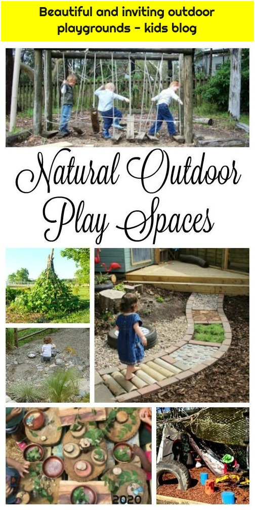 Beautiful and inviting outdoor playgrounds - kids blog