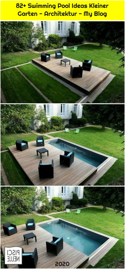 82+ Swimming Pool Ideas Kleiner Garten - Architektur - My Blog