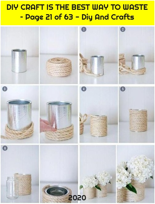 DIY CRAFT IS THE BEST WAY TO WASTE – Page 21 of 63 - Diy And Crafts