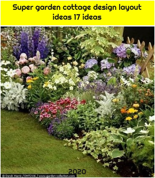 Super garden cottage design layout ideas 17 ideas