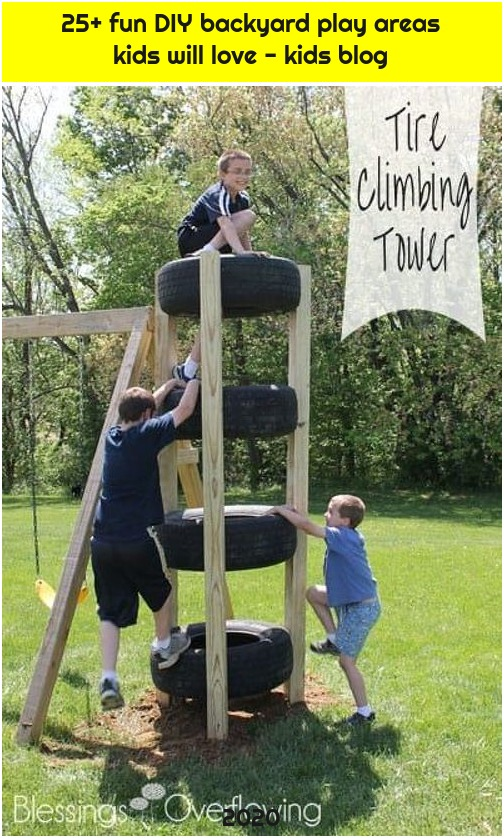 25+ fun DIY backyard play areas kids will love - kids blog