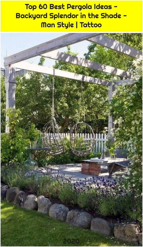 Top 60 Best Pergola Ideas - Backyard Splendor in the Shade - Man Style | Tattoo