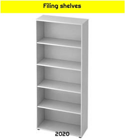 Filing shelves