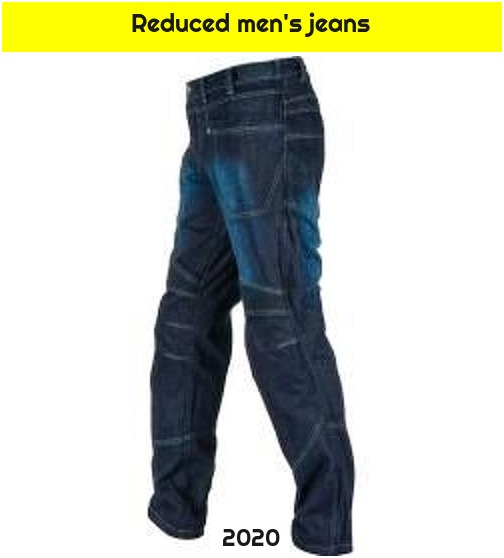Reduced men's jeans