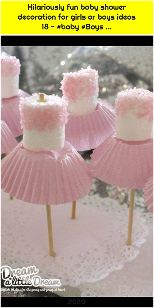 Hilariously fun baby shower decoration for girls or boys ideas 18 - #baby #Boys ...