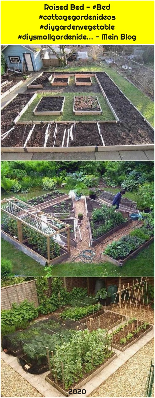Raised Bed - #Bed #cottagegardenideas #diygardenvegetable #diysmallgardenide... - Mein Blog