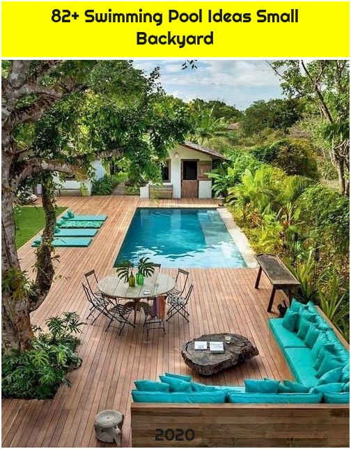 82+ Swimming Pool Ideas Small Backyard