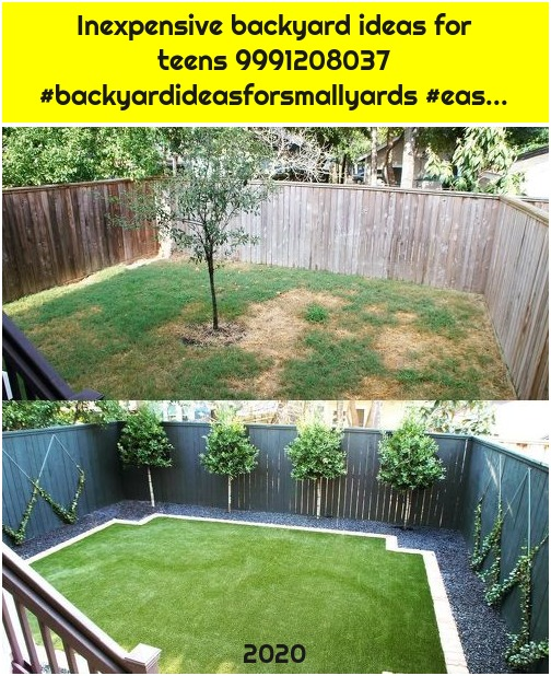 Inexpensive backyard ideas for teens 9991208037 #backyardideasforsmallyards #eas...