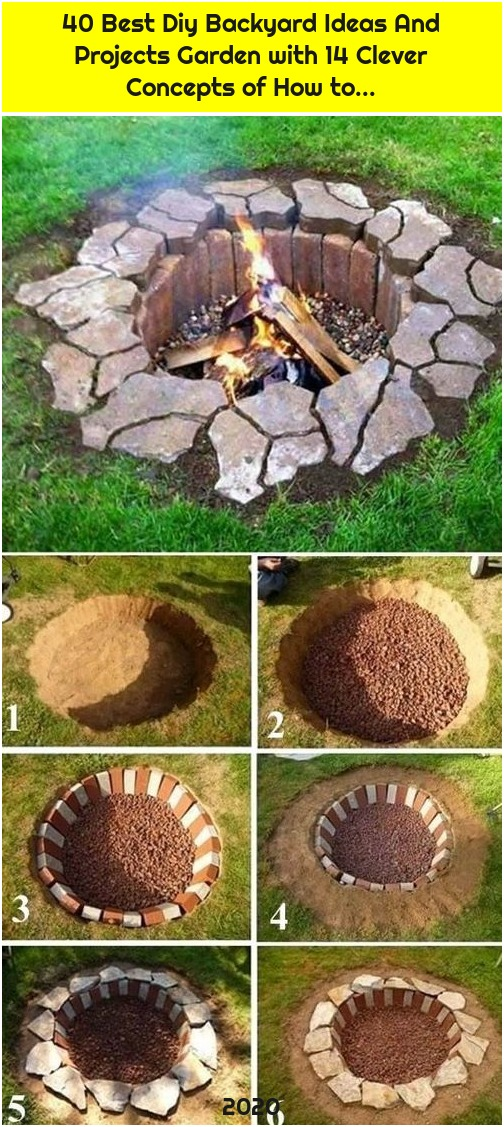 40 Best Diy Backyard Ideas And Projects Garden with 14 Clever Concepts of How to...