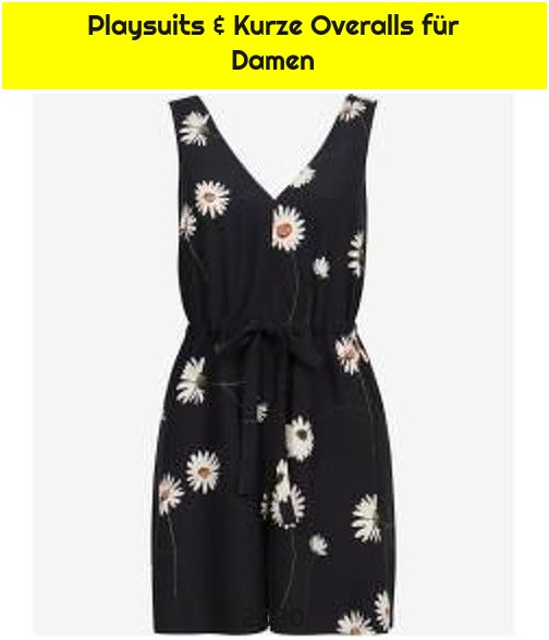 Playsuits & Kurze Overalls für Damen