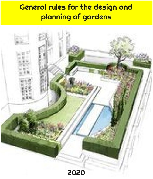 General rules for the design and planning of gardens