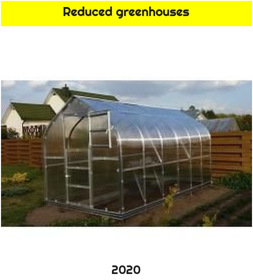 Reduced greenhouses
