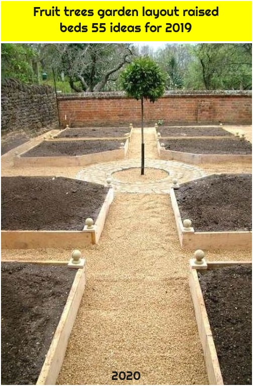 Fruit trees garden layout raised beds 55 ideas for 2019