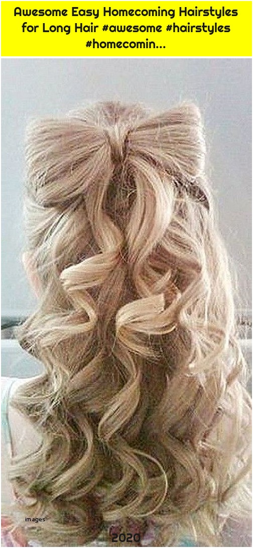 Awesome Easy Homecoming Hairstyles for Long Hair #awesome #hairstyles #homecomin...