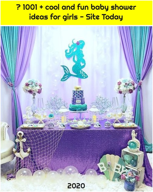 ▷ 1001 + cool and fun baby shower ideas for girls - Site Today