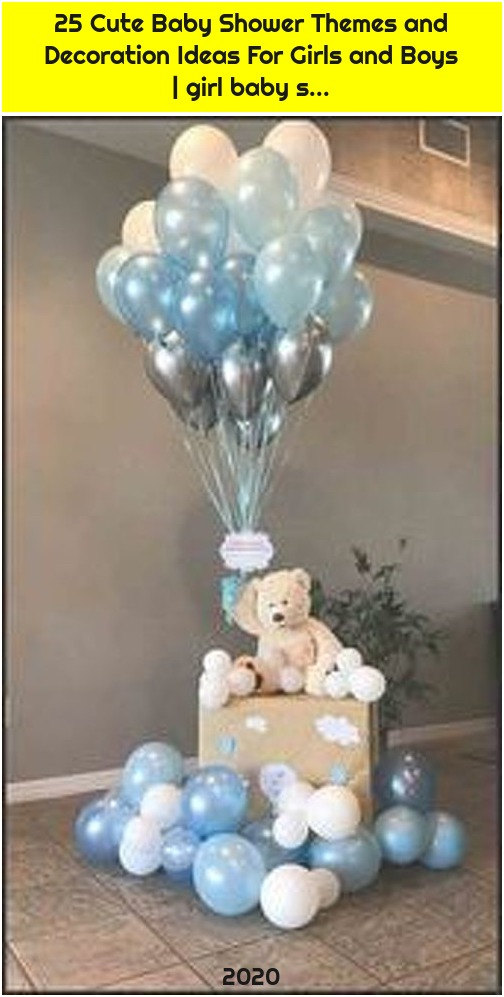 25 Cute Baby Shower Themes and Decoration Ideas For Girls and Boys | girl baby s...