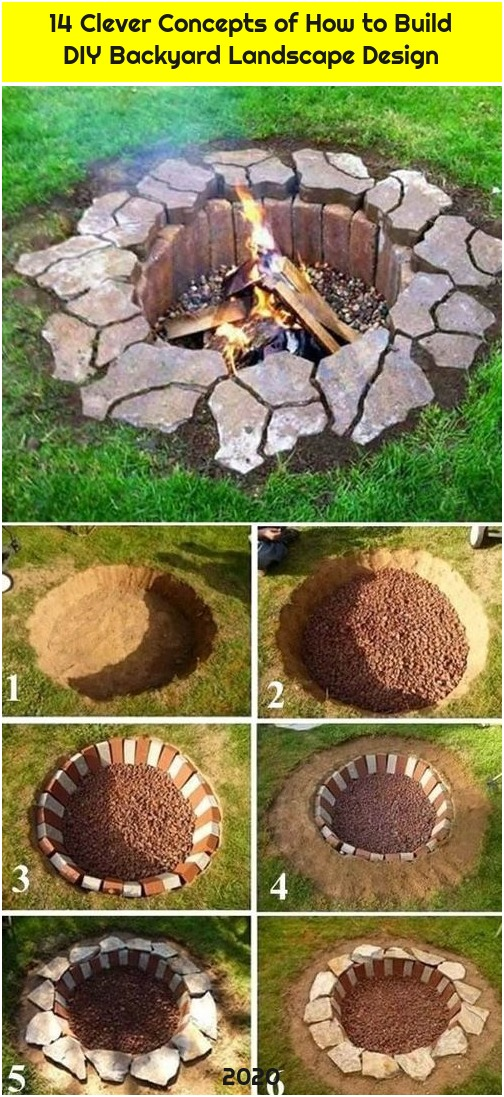 14 Clever Concepts of How to Build DIY Backyard Landscape Design