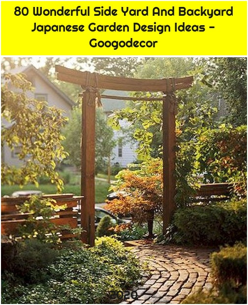 80 Wonderful Side Yard And Backyard Japanese Garden Design Ideas - Googodecor
