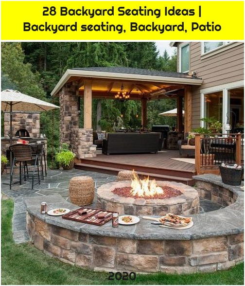 28 Backyard Seating Ideas | Backyard seating, Backyard, Patio