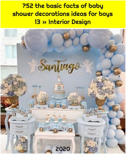 ❤52 the basic facts of baby shower decorations ideas for boys 13 » Interior Design
