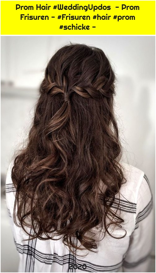 Prom Hair #WeddingUpdos - Prom Frisuren - #Frisuren #hair #prom #schicke -