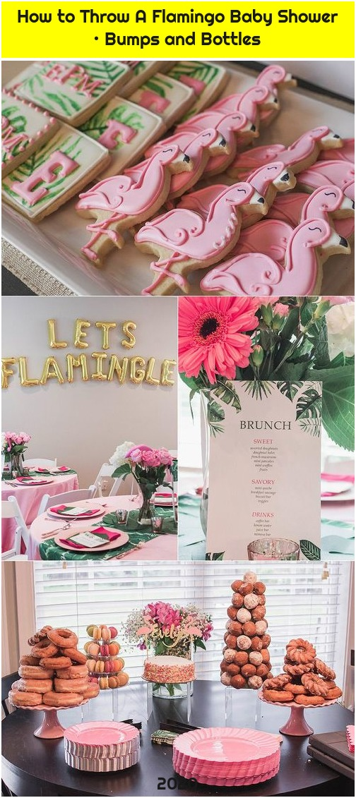 How to Throw A Flamingo Baby Shower • Bumps and Bottles